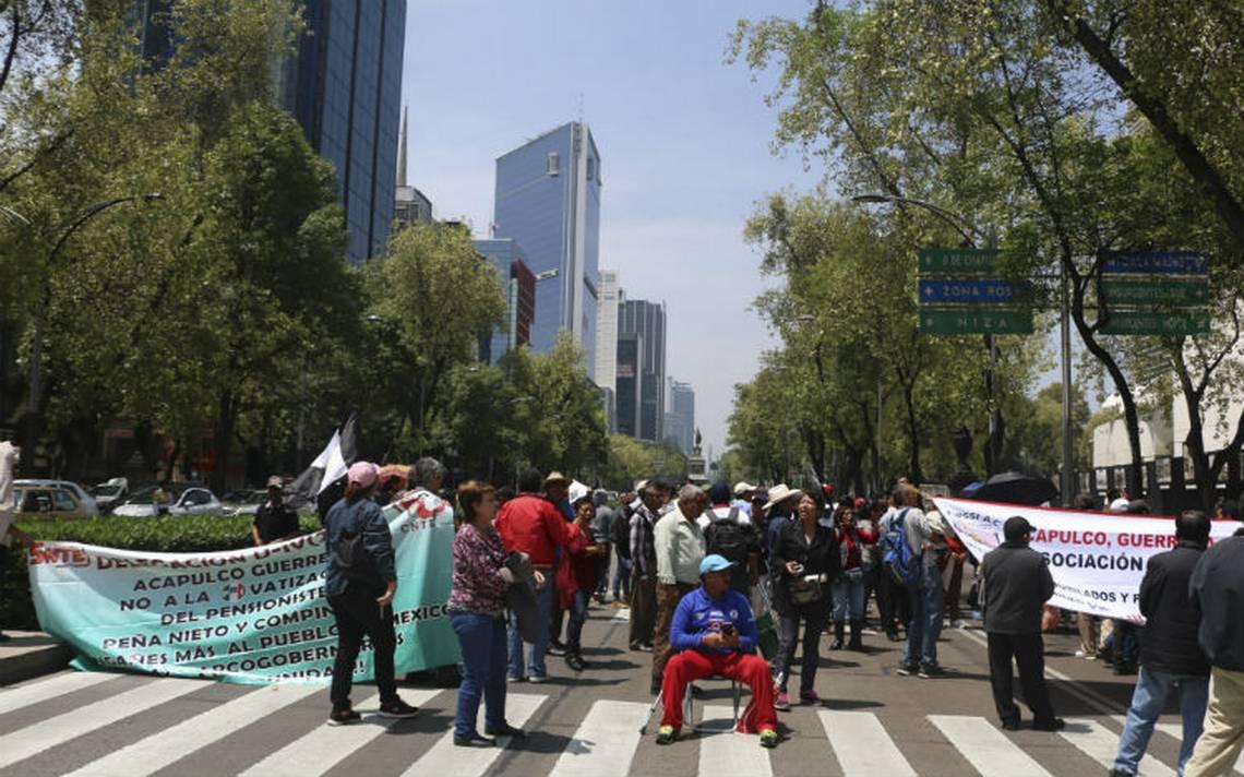 Toma precauciones, CNTE prepara marchas, bloqueos y plantones en CDMX
