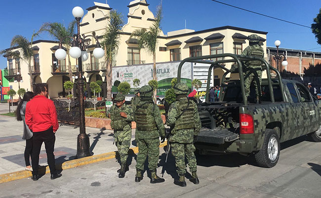Presenta ejército denuncia por agresión en Huactzinco