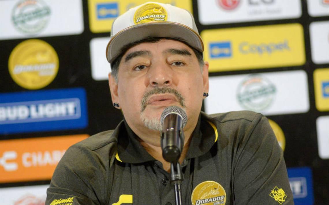 Maradona critica a Infantino por no invitarlo a los premios The Best
