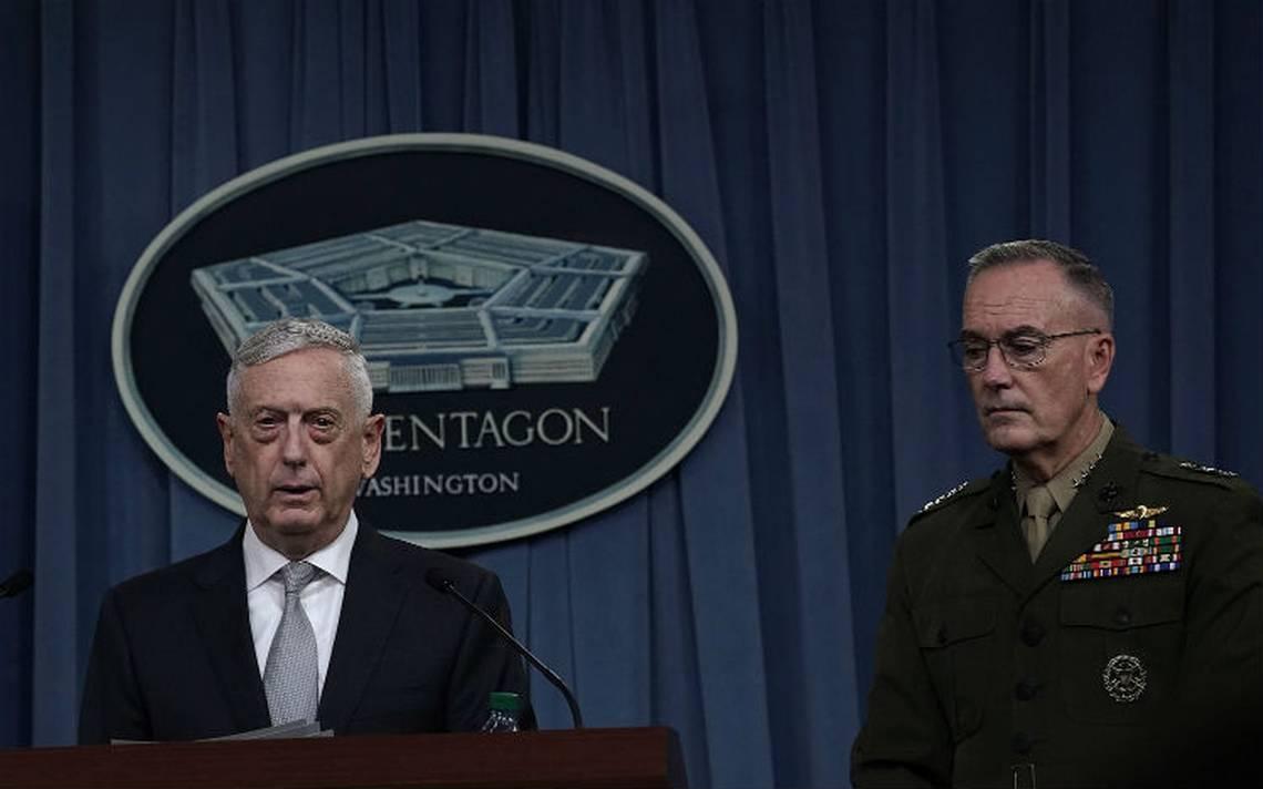 Secretario de Defensa de EU descarta  más ataques contra Siria