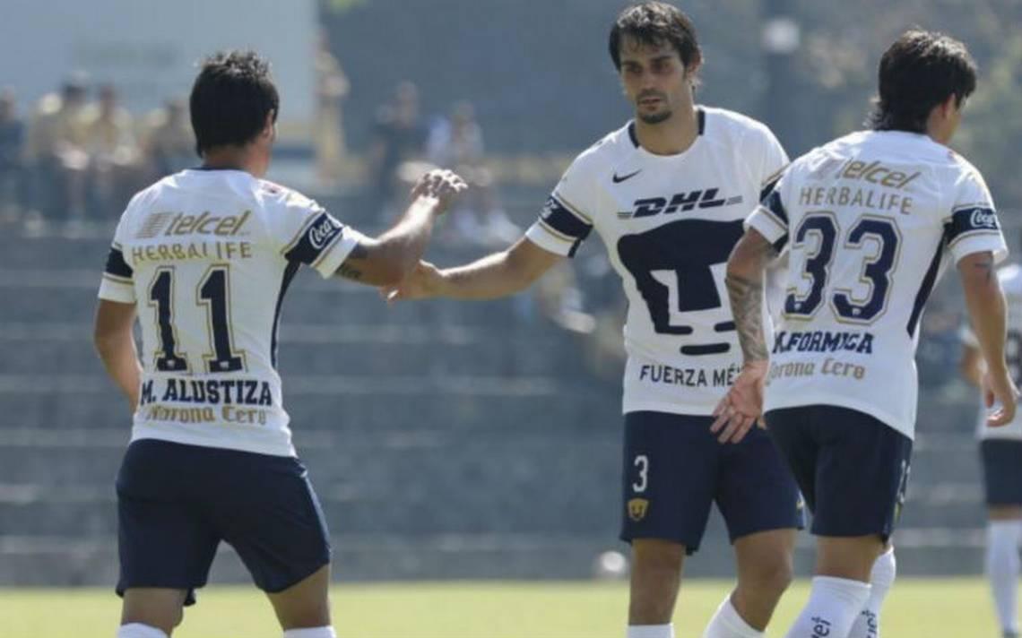 En duelo de preparación, Pumas vence 2-1 al Zacatepec