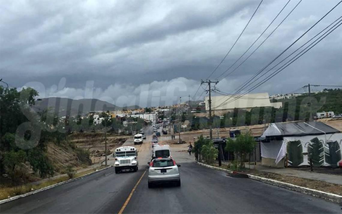 Suspenden clases en Los Cabos por presencia del huracán John