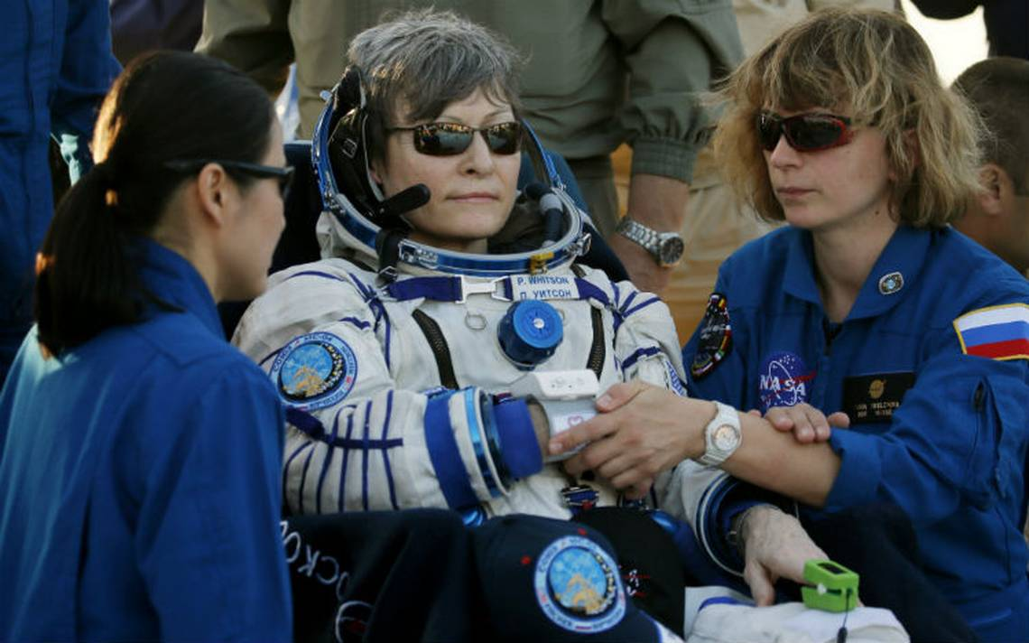 Peggy Whitson bate récord al estar 665 días en el espacio