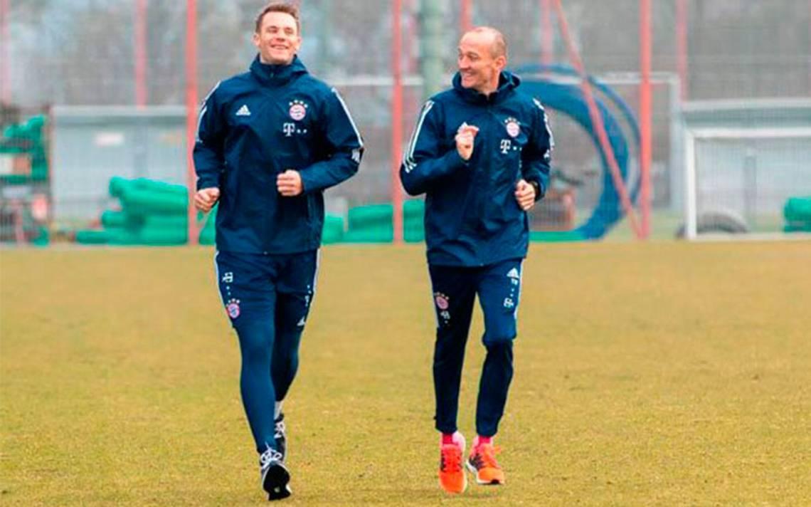 Tras su lesión, Manuel Neuer regresa a entrenar con Bayer Munich