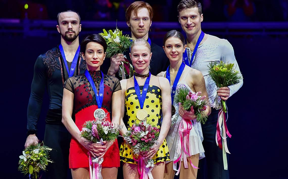Los patinadores Evgenia Tarasova y Vladimir Morozov conservaron el título europeo de parejas