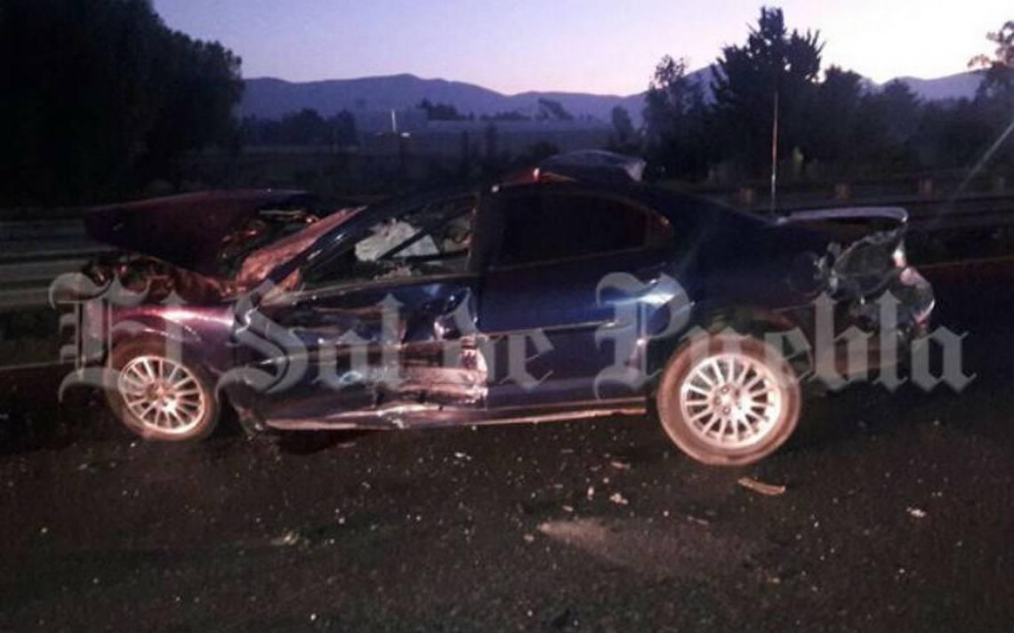 Choque en la autopista Puebla-Orizaba deja dos muertos