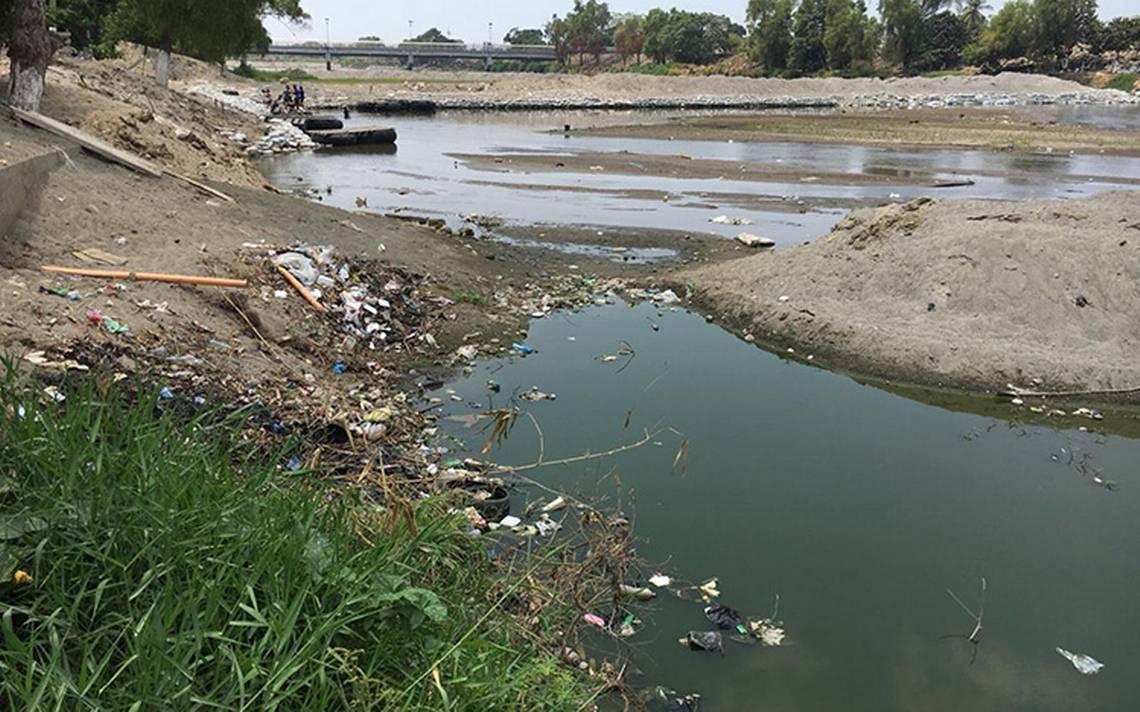 Convierten al río Suchiate en basurero clandestino