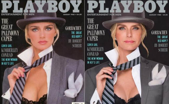 ¡Checa el antes y después de las Conejitas de Playboy!