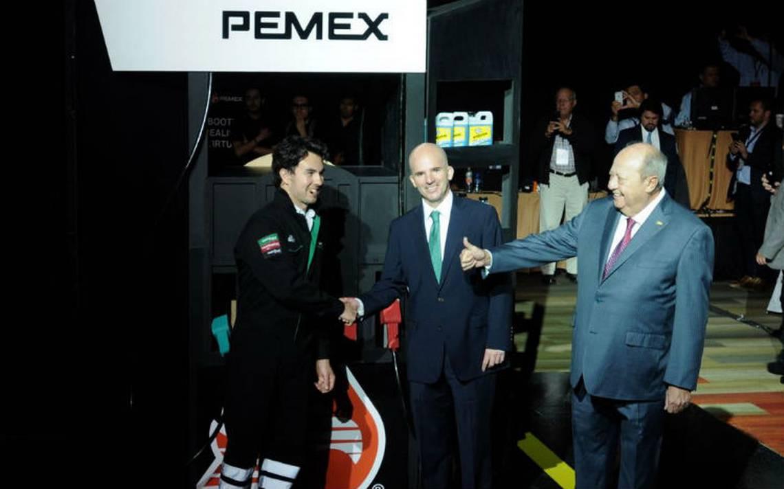 De la mano de Checo Pérez, Pemex relanza franquicia gasolinera
