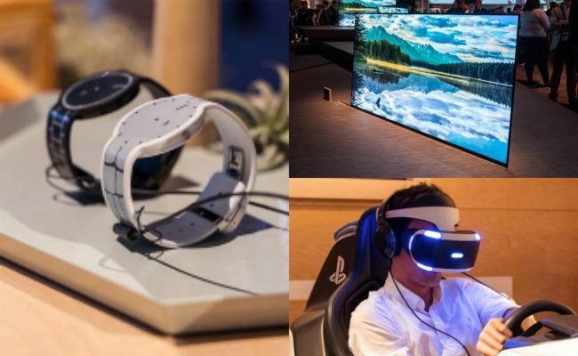 Samsung y Sony, las marcas protagonistas en el CES 2017