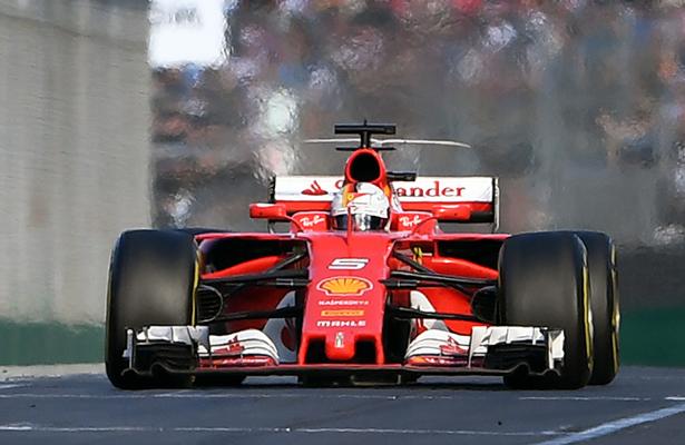 El inicio de la fórmula 1 fue de Vettel
