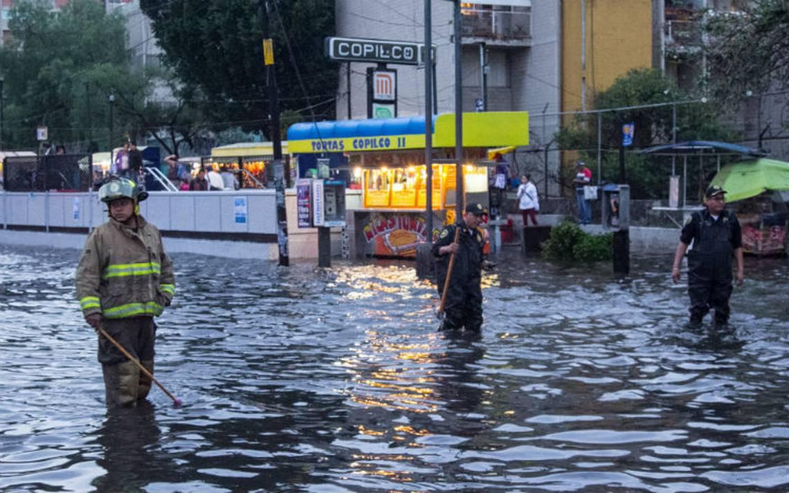 Metro implementa operativo de seguridad por lluvias