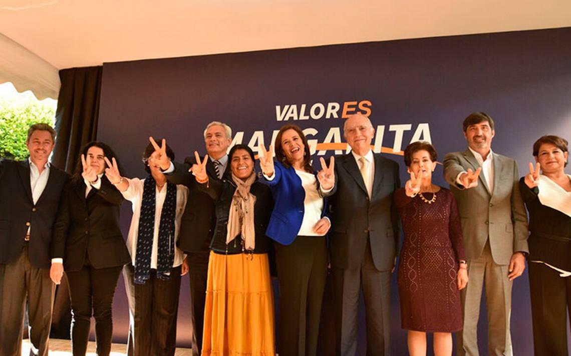 Margarita Zavala presenta a su Consejo Político rumbo a las elecciones 2018