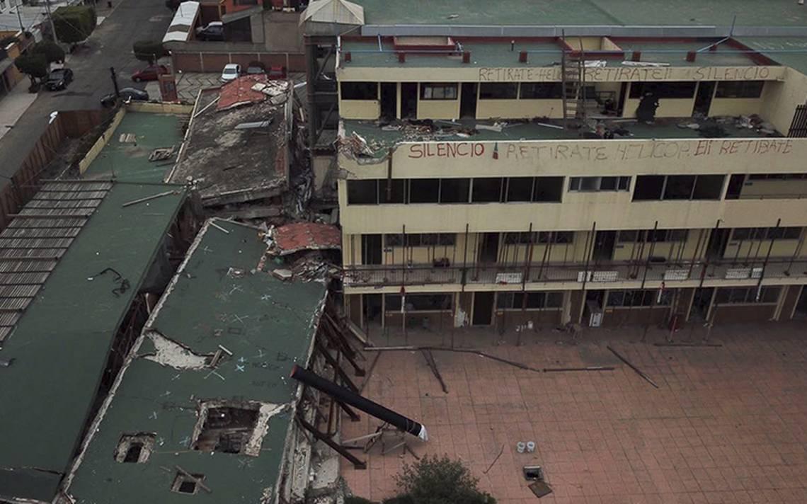 Fiscalía capitalina confirma remoción de escombros del Colegio Rébsamen