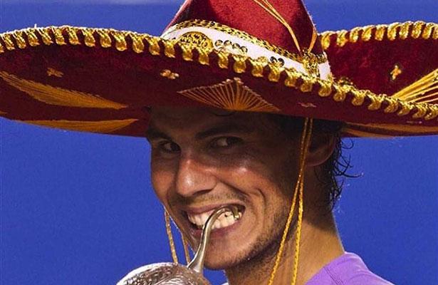 Nadal ya está en México para disputar el AMT
