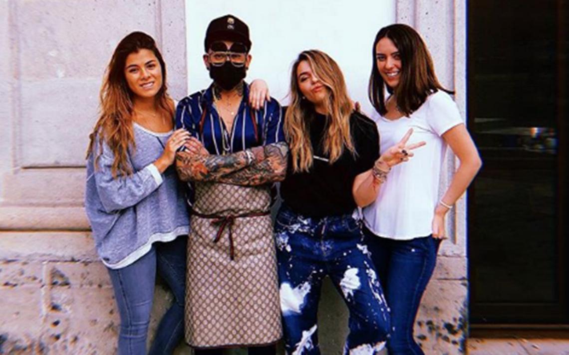 Los Pinos se convierte en estudio de tatuajes para Sofía Castro y la hija de Peña Nieto