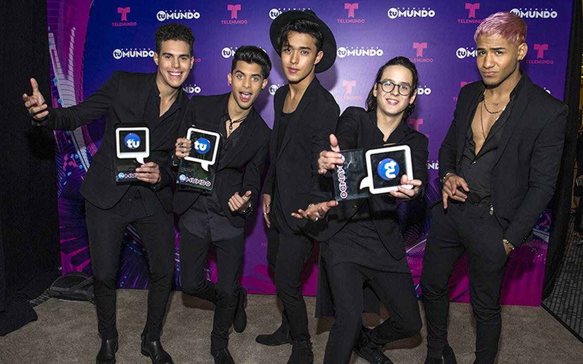 CNCO triunfa en Premios Tu Mundo