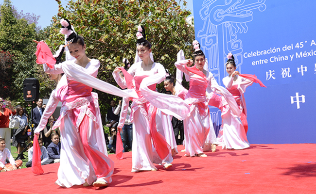 Intercambio cultural México-China
