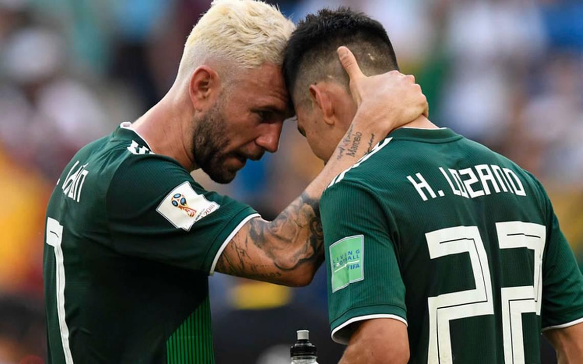 La Selección mexicana cae en el ranking de la FIFA