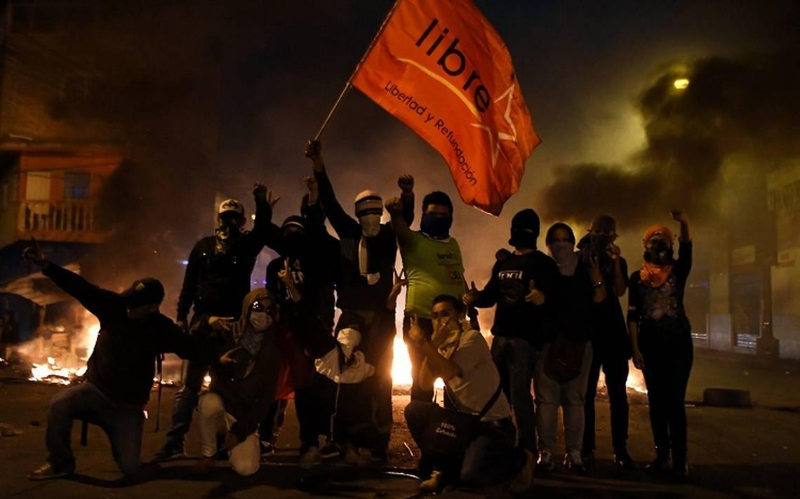 Autoridades de Honduras dicen que manifestantes son narcos y pandilleros