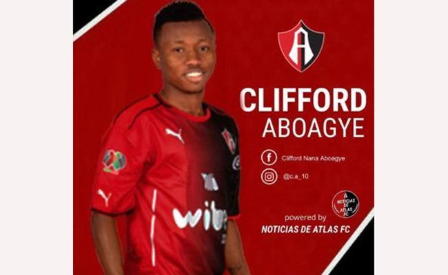 Clifford Aboagye se declara feliz de jugar en Atlas