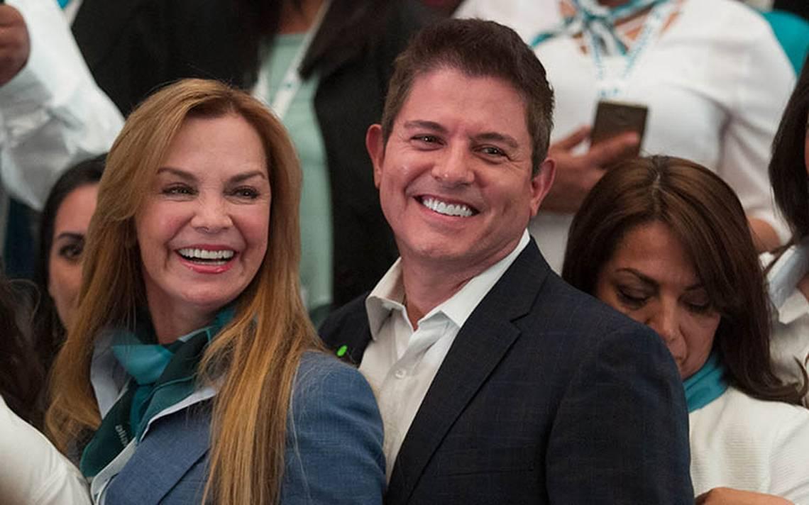 Ernesto Laguardia y Gabriela Goldsmith arrancan campaña para ser diputados