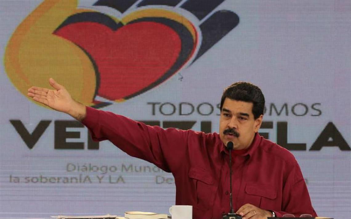 Maduro descarta adelantar comicios presidenciales de Venezuela en 2018