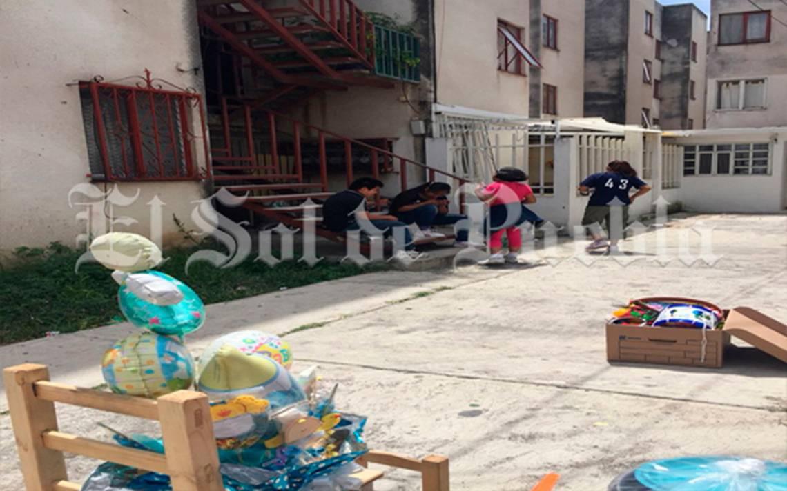 Terremoto les arrebata sus viviendas, ahora buscan refugio