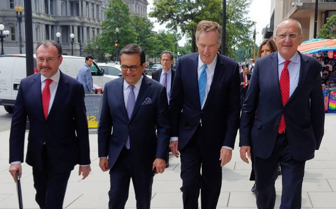 EU espera alcanzar esta semana un acuerdo con México sobre el TLCAN