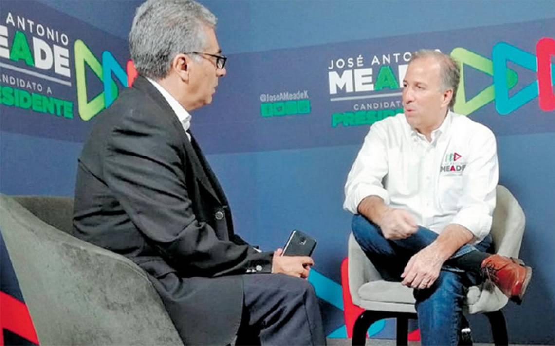 El candidato José Antonio Meade pide votar sin presiones