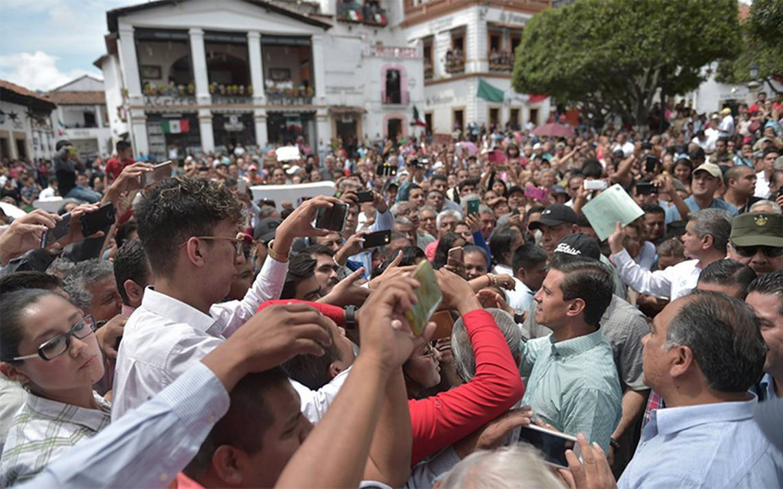 Hay 1500 inmuebles y zonas arqueológicas dañadas tras sismos: Peña Nieto