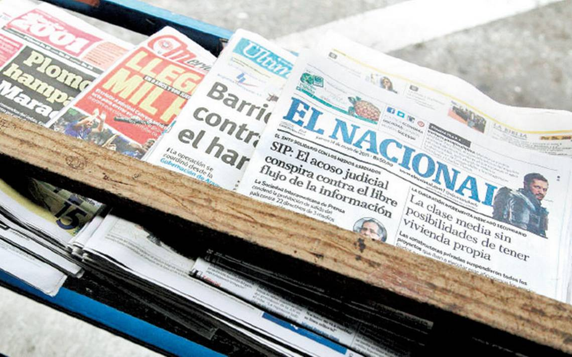Peligra el último diario venezolano; pretenden cambiarle el nombre