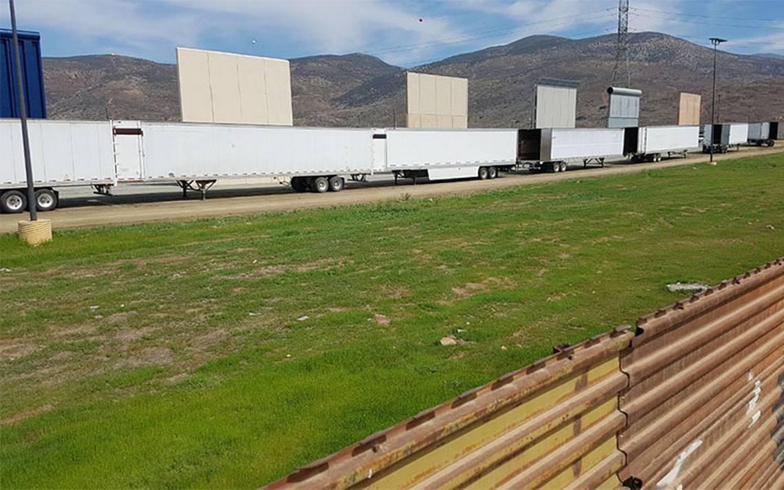 Trump viaja a California para inspeccionar prototipos del muro con México