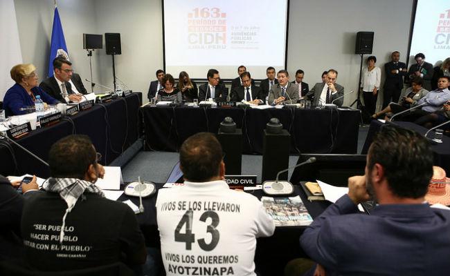 CIDH urge a México informar método para investigar espionaje en caso Ayotzinapa