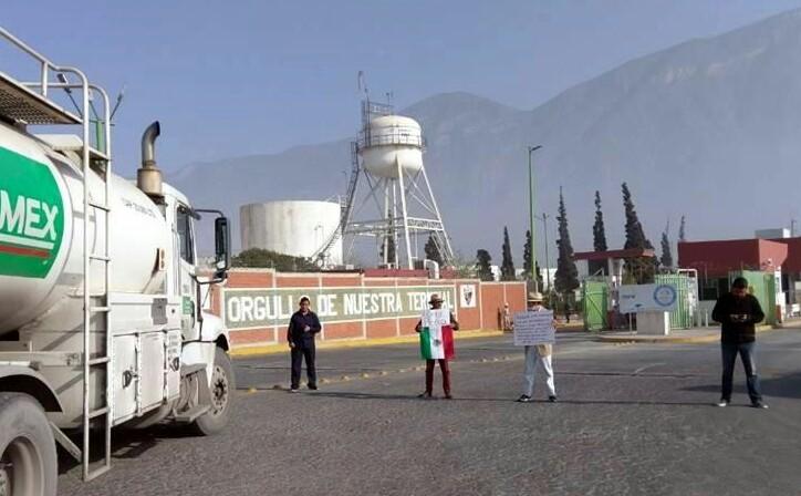Persisten protestas contra gasolinazo en Nuevo León