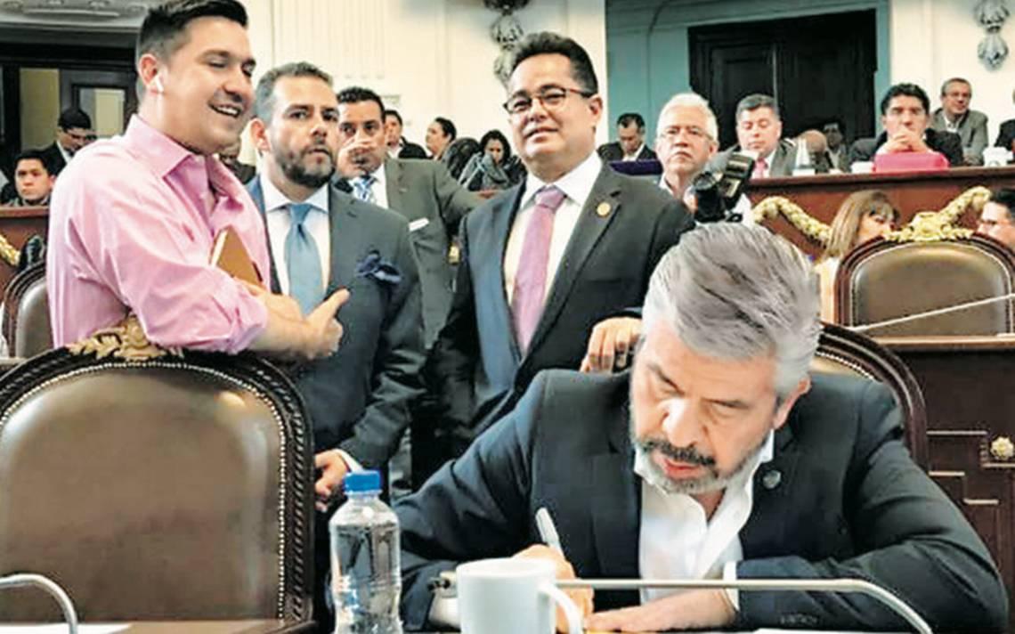 Grupo parlamentario de PRD propone a José Ramón Amieva para jefe de gobierno de la CdMx