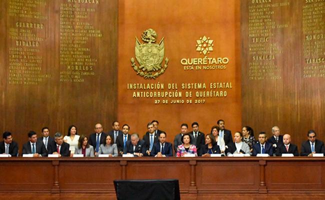 Querétaro, primer estado con sistema anticorrupción