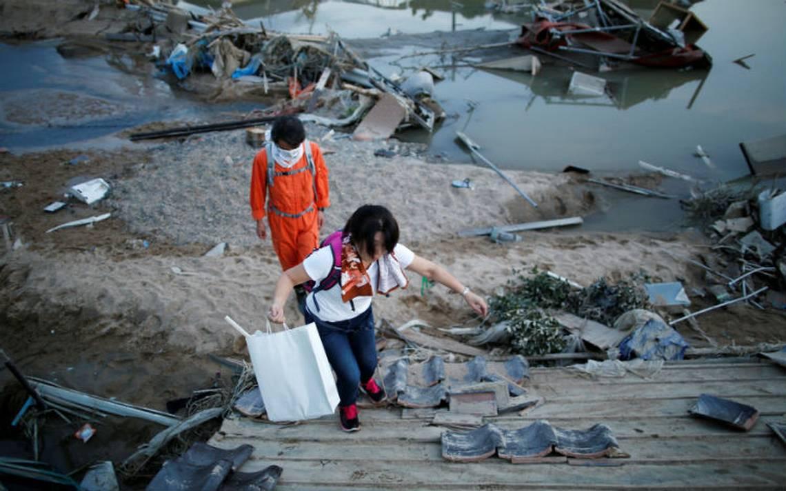 Inundaciones en Japón provocan 114 muertes, rescatistas luchan por encontrar sobrevivientes