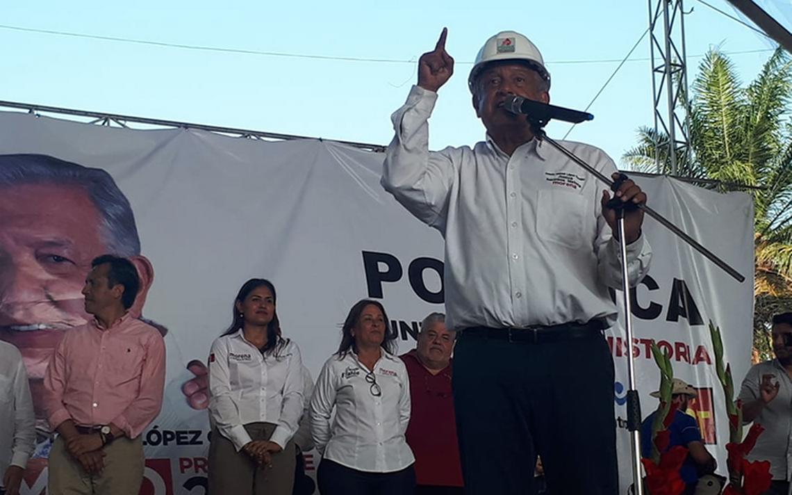 López Obrador pide a Germán Larrea que no tenga miedo y que no lo propague