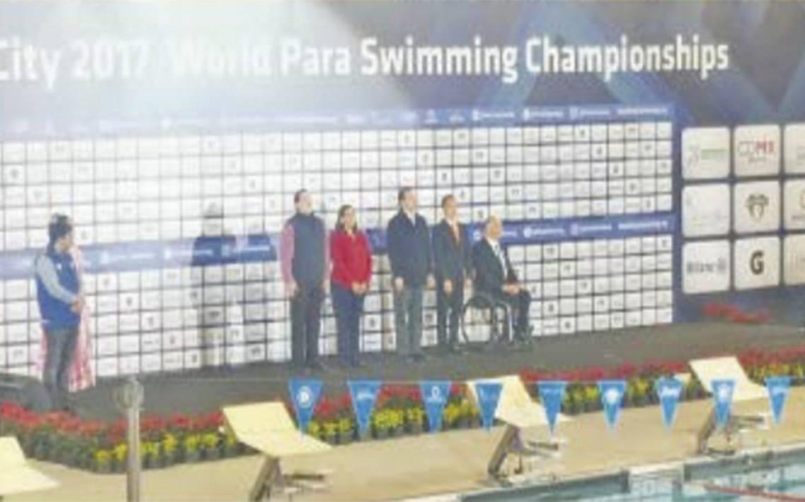 Inauguran los Para-Natación y Para-Powerlifting