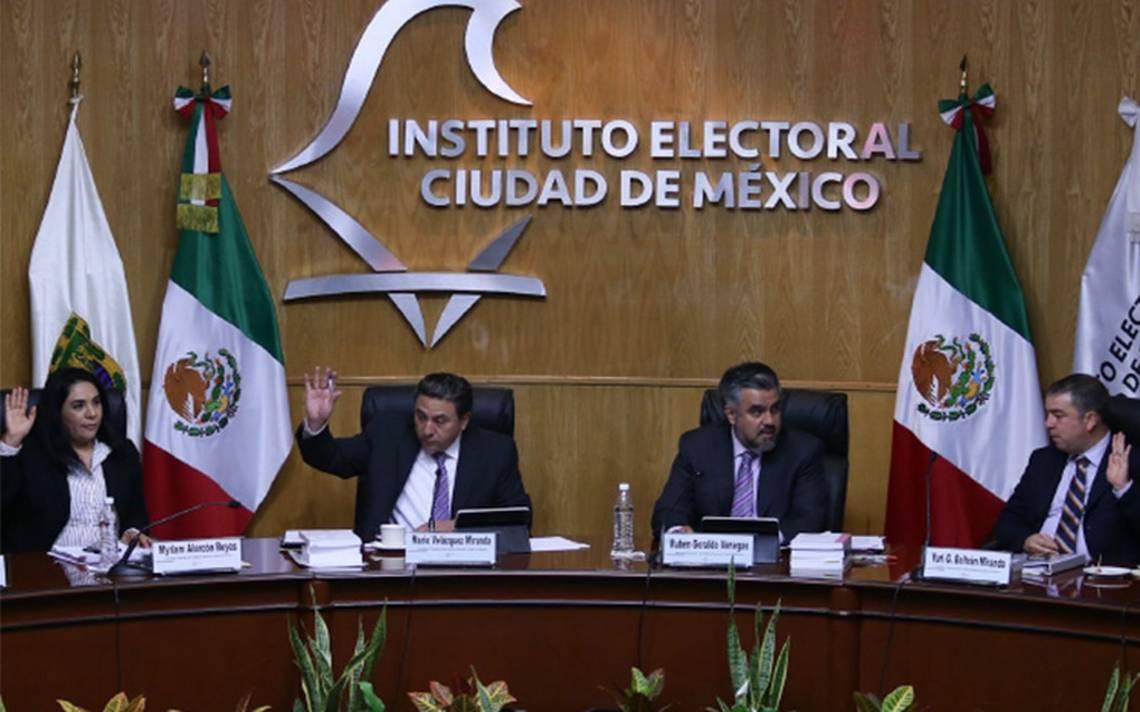 IECM avala candidaturas comunes en 16 alcaldías capitalinas