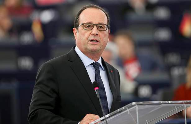 Inaceptable la presión de Trump sobre la Unión Europea, afirma Hollande