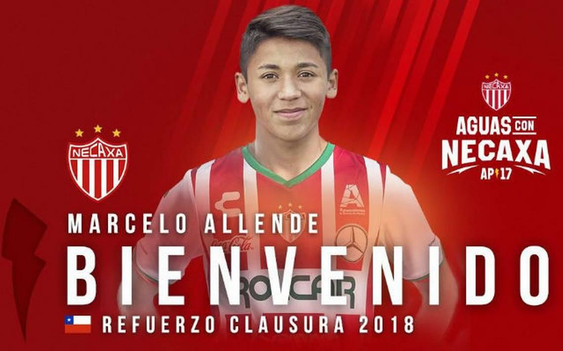 Necaxa madruga al Arsenal y ficha al andino Marcelo Allende