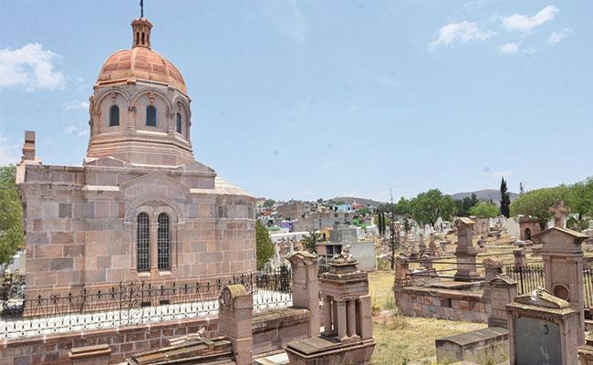 El panteón de los ricos, dos siglos de historia en Zacatecas