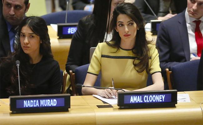 No permitan que ISIS quede impune: Amal Clooney
