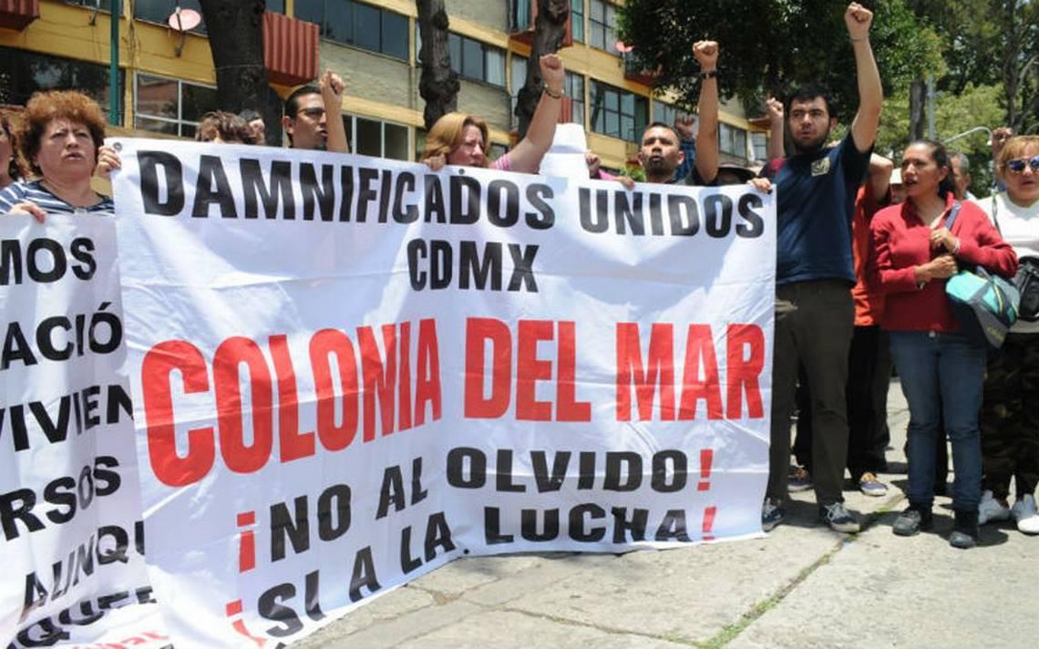 Damnificados convocan a marchar por 19S para exigir reconstrucción digna