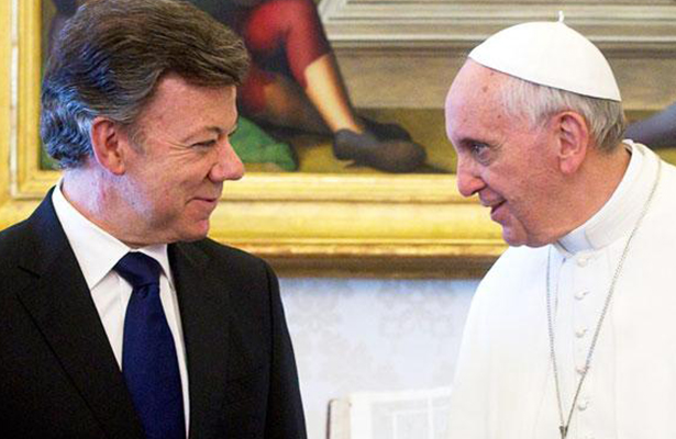 El Papa Francisco va a Colombia para apuntalar el proceso de paz