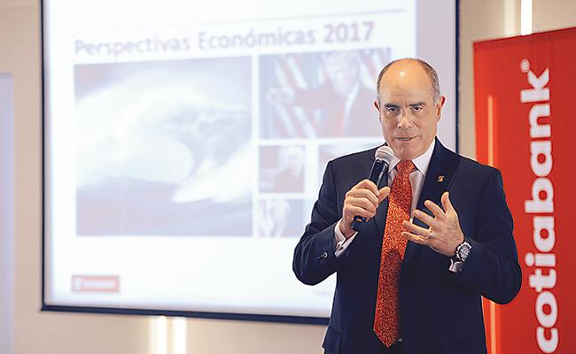 Economía mexicana entró a una tormenta: Scotiabank, prevé crecieminto del PIB