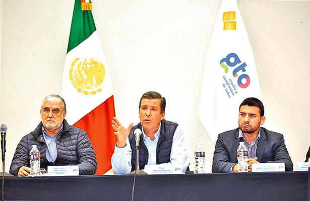 Guanajuato continuará con  su desarrollo: Miguel Márquez
