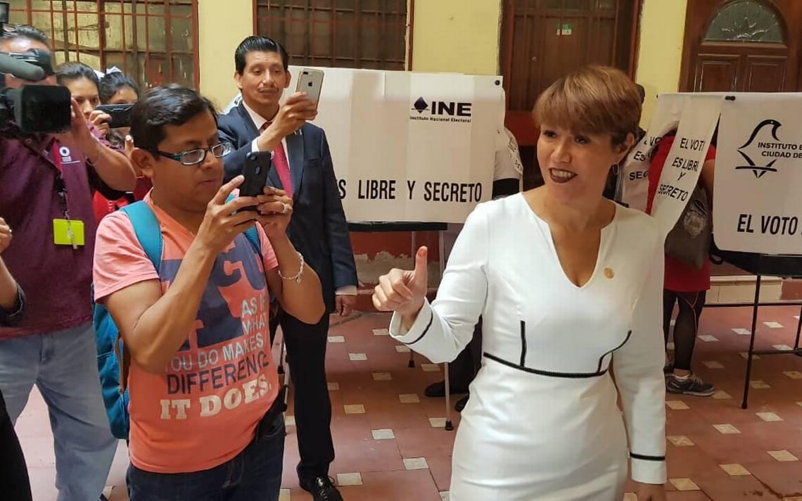 Lorena Osornio exhorta a los ciudadanos a salir a votar